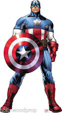 CAPTAIN AMERICA AVENGERS ASSEMBLE LIFESIZE STANDUP STANDEE CUTOUT POSTER FIGURE