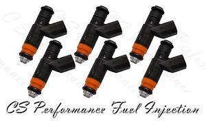 OEM Siemens Fuel Injectors Set (6) 04591658AA for 2000-2004 Dodge Chrysler 3.5L