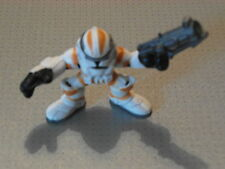 Galactic Heroes Clone Trooper Yellow Figure - New - Loose - Star Wars (GMT04)