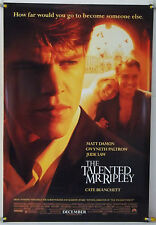 The Talented Mr. Ripley Ds Rolled Orig 1Sh Movie Poster Matt Damon (1999)