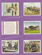 More details for imperial publishing ltd - set of m48 churchman ' the  r.a.f.  at  work ' cards