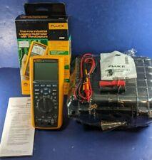 New Fluke 289 Trms Industrial Logging Multimeter Original Box Case More