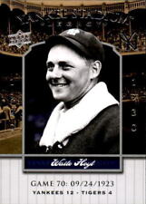 2008 Upper Deck Yankee Stadium Legacy Collection #70 Waite Hoyt (ref 17858)