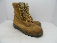"Kodiak Men's 8"" Prowalker Steel Toe Steel Plate Work Boots Tan Size 9.5M"