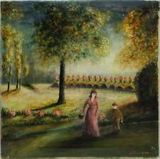 Peintures du XXe siècle et contemporaines huile signé pour Art déco