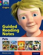 Project X Origins: Red Book Band, Oxford Level 2: Pets: Guided Reading Notes...