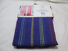 New RHC New York Sabrina Stitched Stripe Tab Top Window Panel 54x84 Tween Purple