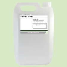 Distilled Water (Food Grade) 5 Litre (5L) Inc Delivery