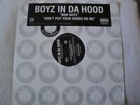 "BOYZ IN DA HOOD DEM BOYZ/ DON'T PUT YOUR HANDS ON ME 12"" SINGLE VINYL 2004 EX"