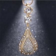 Fashion Jewelry 18k gold Rhinestones Crystal chain pendant Necklace