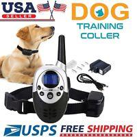 1000 Yard Dog Shock Collar Wiz Remote Waterproof Electric For Large Pet Training