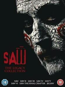 Saw 1-7 The Legacy Collection Dvd New/Sealed Fast Free Delivery