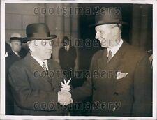 1935 Canada Prime Minister William MacKenzie King Press Photo
