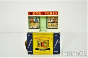 Vintage Matchbox HOME STORES Accessory Pack No. 5 In Box