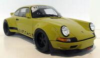 GT Spirit 1/18 Scale Porsche 911 Classic RWB Kaki yellow Resin cast Model Car