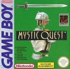 Nintendo GameBoy - Mystic Quest / Final Fantasy Adventure mit OVP NEUWERTIG