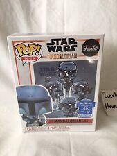 Star Wars The Mandalorian Funko Pop Deathwatch Gamestop Exclusive W/T-shirt, S