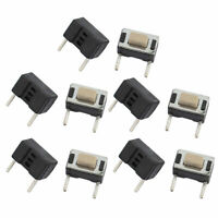 10 Pcs 3x6x5mm Panel PCB Momentary Tactile Tact Push Button Switch 2Terminals