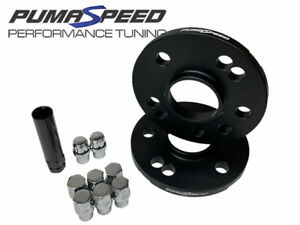 Pumaspeed Racing 12mm 4x108 Ford Hubcentric Wheel Spacers - Silver Wheel Nuts