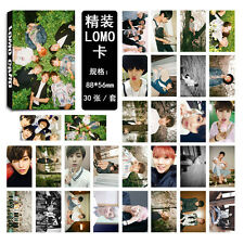 New 30pcs BTS Lomo Cards WINGS Jimin Bangtan Boys Jung Kook Jin V Photo Poster
