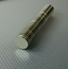 20 Neodymium Cylinder Disc Magnets. Strong N40 Rare Earth 20mm x 2mm