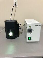 New Listingolympus Fluorescence Illuminator Lamp U Lh100hgapo Amp Power Supply Bh2 Rfl T3