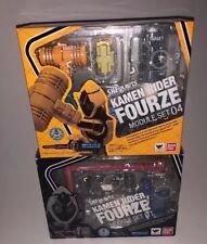 Bandai S.H. Figuarts Kamen Rider Fourze Module Set 01 & 04 - Lot Of 2 - NEW NRFB