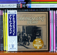 Grateful Dead - Workingman's Dead Japan Mini LP SHM CD HDCD 2013 Bonus Tr. NEW!