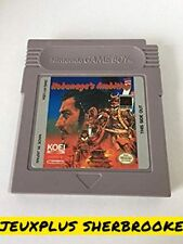 Nobunaga's Ambition (Nintendo Game Boy, 1991)
