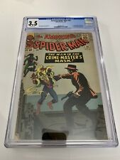 Amazing Spider-Man #26 CGC 3.5 1st Appearance Of Patch And Crime Master 1965 🔑
