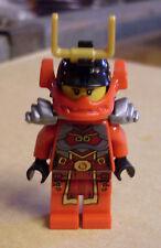 Lego Ninja Ninjago - Nya - Samurai Figur Helm u. Rüstung grau ( Nia Nja ) Neu