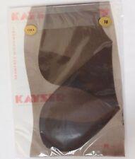 "Vintage ladies Kayser stockings size 10"" Cola seamfree micromesh nylons 1960s"