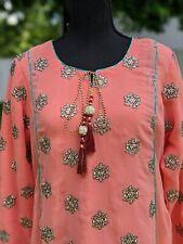 NEW Stitched Arabian/Pakistani/Indian Bengali Memon Bridal 3pcs Dress w lining