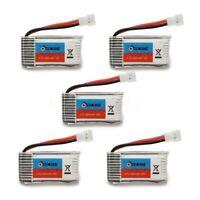 5 PCS  Eachine H8 Mini H8 3D Battery 3.7V 260mAh RC Quadcopter Spare Parts US