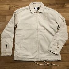 $175 PUMA x BIG SEAN Zip-Up Men's Jacket Corduroy Long Sleeve Collar Birch sz S