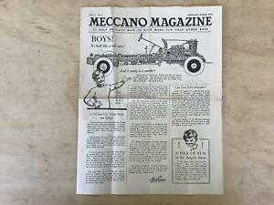 Meccano  Magazine Vol 2 No 2,Feb-Mar 1920,American.Nice