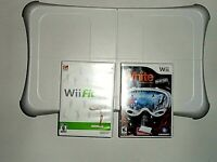 Nintendo Wii Fit/Balance Board With Shaun White Snowboarding Game