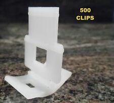 TILE LEVELING SYSTEM 500 clips only, tile levelling spacer EXPRESS POST