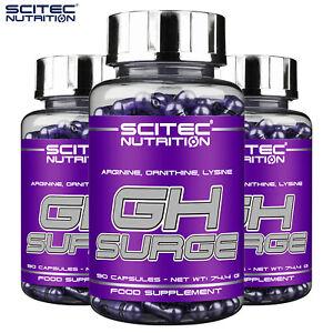 GH SURGE SUPPLEMENTS Arginine + Ornitine + Lysine Formula - Testosterone Booster