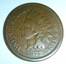 1877 Indian Head Cent