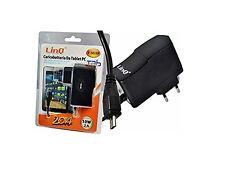 ALIMENTATORE DA RETE CASA PER TABLET 5V 2A 10W Micro USB (T-M15P) Linq