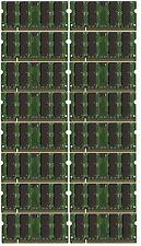BULK LOT! 32GB (16x2GB) Memory PC2-6400 SODIMM For IBM Lenovo HP Dell Laptop