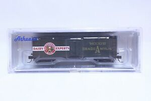 ATHEARN N SCALE HOOD'S 40' WOOD MILK CAR NEW IN BOX