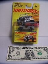 Matchbox Lesney Edition - Gray Jeep Willys - 2011