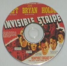FILM NOIR 163: INVISIBLE STRIPES (1939) Lloyd Bacon, G Raft, W Holden, H Bogart