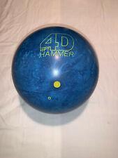 Hammer 4D bowling ball no box
