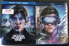 Ready Player One Blu-Ray/DVD/Digital HD Target Lenticular Slip + Bonus Content