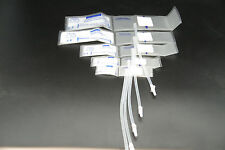 Set of 5 size Single Hose CLEAR Soft veterinary NIBP BLOOD PRESSURE CUFF