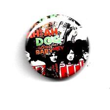Overig Pin Button Badge Ø38mm Led Zeppelin Rock UK Led Zep Page Plant Speldjes