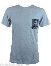 Eleven Paris Hombre 'WolyPock' camiseta gris (EPTS220)